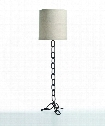 "Paxton 20"" Floor Lamp in Dark Iron"