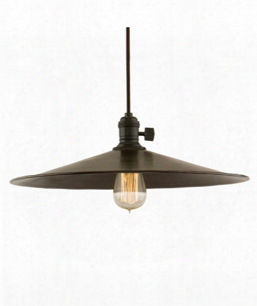 "Heirloom 17"" 1 Light Large Pendant In Old Bronze"
