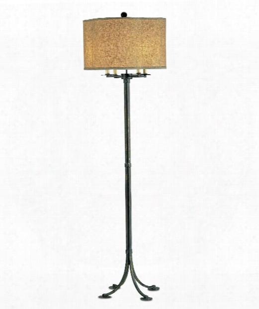 "Poston 20"" 4 Light Floor Lamp In French"