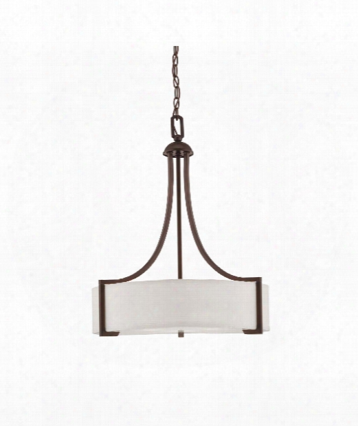 "Terrell 22"" 3 Light Large Pendant In English Bronze"