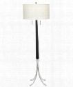 """Kershaw 20"""" 1 Light Floor Lamp in Matte Black"""