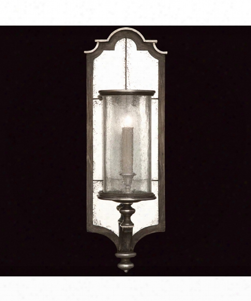 "Villa Vista 10"" 1 Light Wall Sconce In Hand Painted Driftwood"