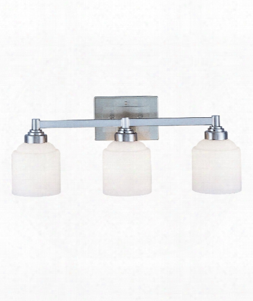 "Wilmont 24"" 3 Light Bath Vanity Light In Pewter"