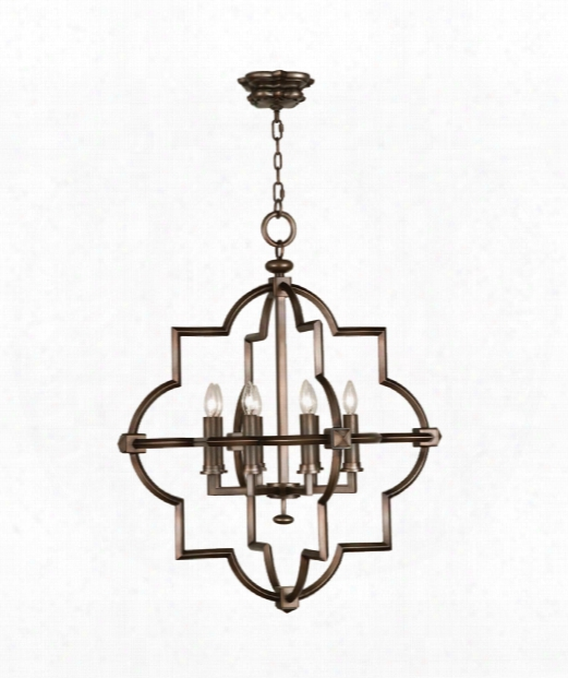 "Liaison 30"" 8 Light Chandelier In Antique Hand-rubbed Bronze"