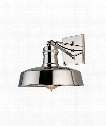 "Hudson Falls 10"" 1 Light Wall Sconce in Polished Nickel"