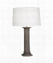 "Phoebe 7"" 1 Light Table Lamp in Faux Limestone"