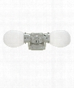 "Soft Square 5"" 2 Light Bath Vanity Light in Chrome"