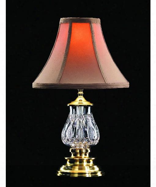 Blue Bell 1 Light Accent Lamp In Versailles Brass