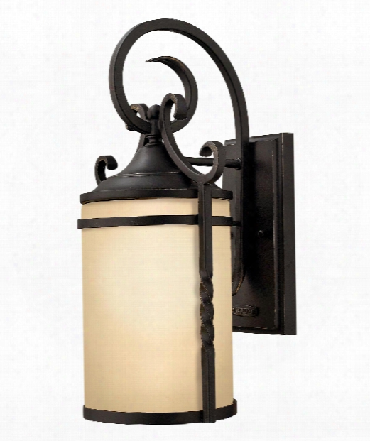 "Casa 7"" Led 1 Light Outdoor Outdoor Wall Light In Olde Black"
