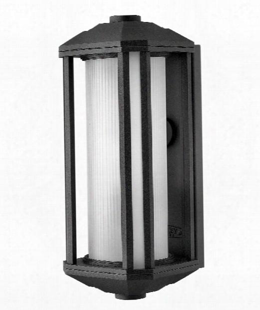 "Castelle 6"" 1 Light Outdoor Outdoor Wall Light In Black"