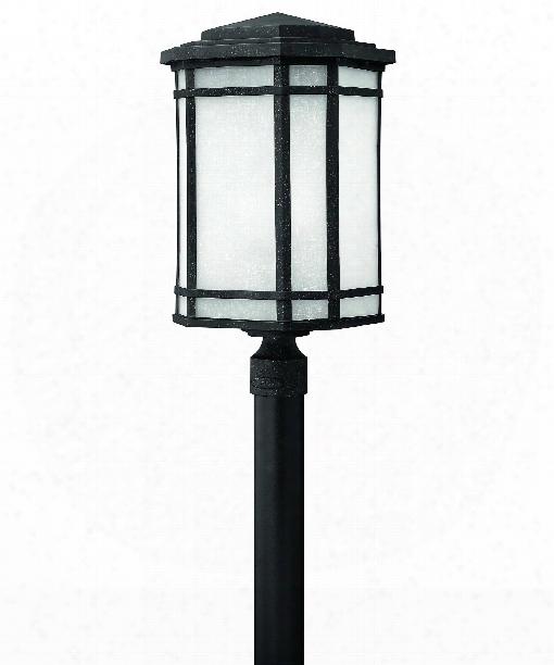 """Cherry Creek 12"""" 2 Light Outdoor Outdoor Post Lamp In Vintage Black"""
