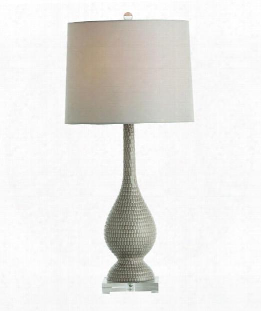 Fergie 1 Light Table Lamp In Gray