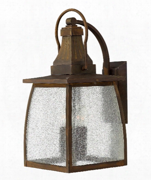 "Montauk 9"" 4 Light Outdoor Outdoor Wall Light In Sienna"