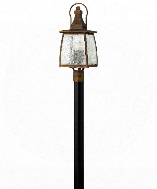 "Montauk 9"" Led 1 Light Outdoor Outdoor Post Lamp In Sienna"
