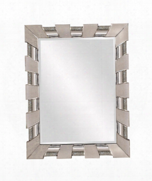 "Pratt 41"" Wall Mirror In Antiqued Mirror"