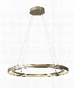 "Aria 34"" LED 1 Light Large Pendant in Soft Gold"
