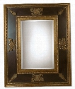"Cadence 60"" Wall Mirror in Painted Gold"