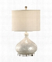 Capiz 1 Light Table Lamp in Shell Acrylic