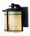 "Ledgewood 7"" LED 1 Light Outdoor Outdoor Wall Light in Museum Bronze"