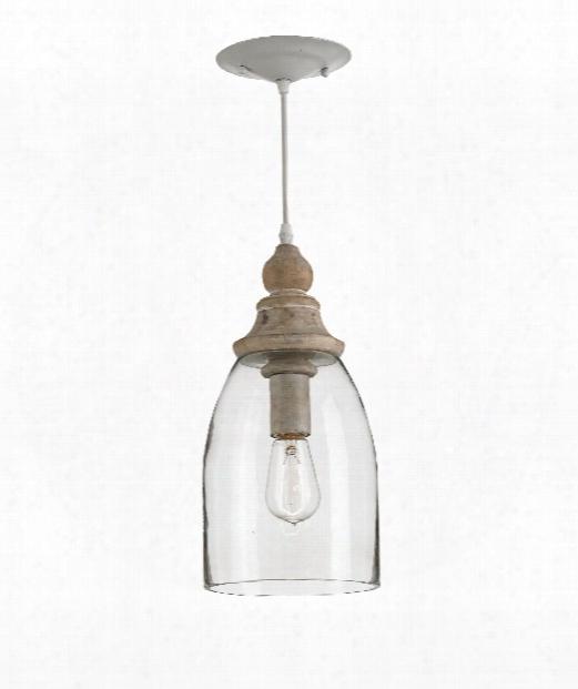 "Anywhere 7"" 1 Light Mini Pendant In Natural"