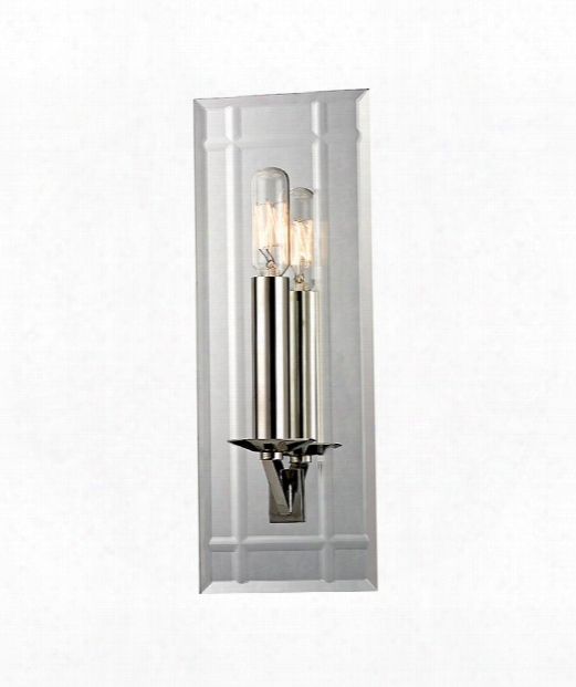 """Austin 5"""" 1 Light Wall Sconce In Polished Nickel"""
