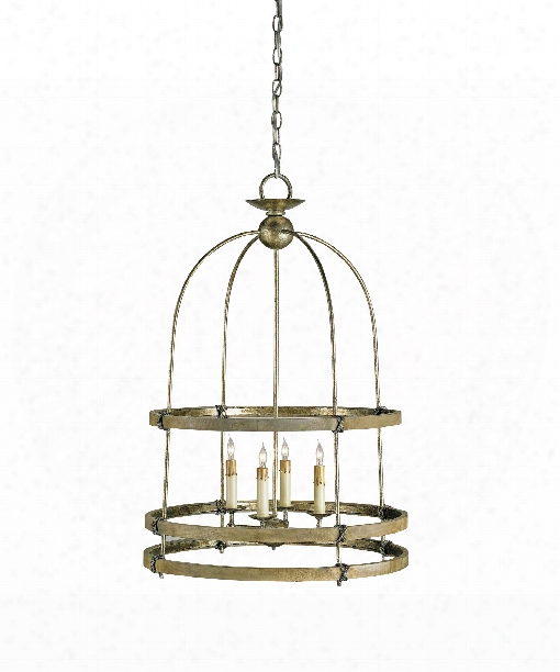 "Beesthorpe 22"" 4 Light Foyer Pendant In Pyrite Bronze-chestnut"