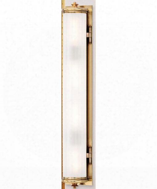 "Bristol 5"" 4 Light Bath Vanity Light In Aged Brass"