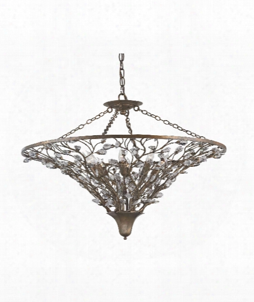 """Giselle 30"""" 8 Light Large Pendant In Cupertino"""