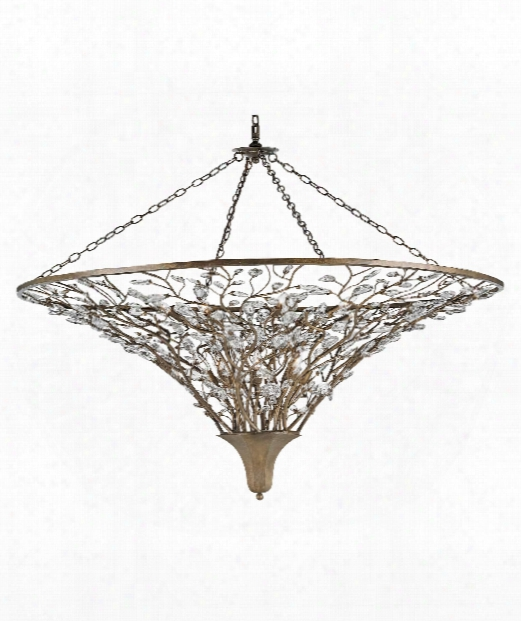 "Giselle 60"" 16 Light Large Pendant In Cupertino"
