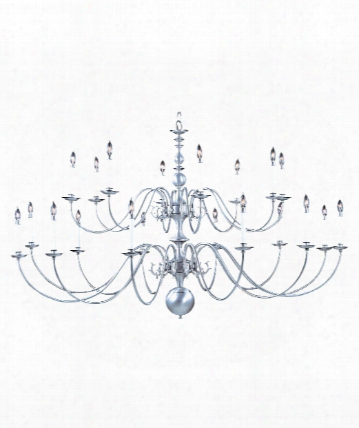 "Jamestown 69"" 20 Light Chandelier In Mahogany Bronze"