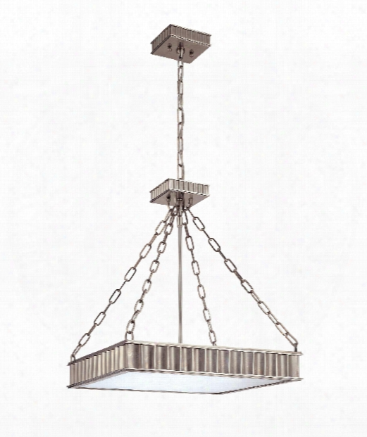 "Middlebury 20"" 5 Light Large Pendant In Historic Nickel"