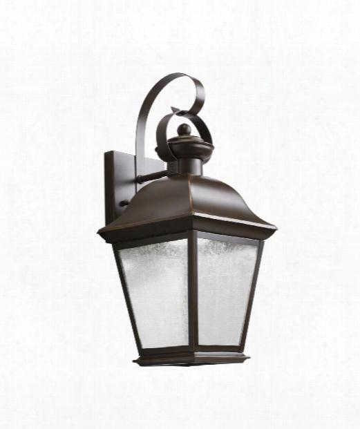 "Mount Vernon 8"" Led 28 Light Outdoor Outdoor Wall Light In Olde Bronze"