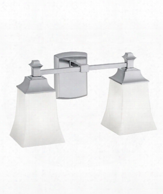 """Sapphire 16"""" 2 Light Wall Sconce In Brushed Nckel"""