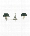 "Cheshire 50"" 6 Light Island Light in Antique Nickel"