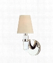 "Dayton 5"" 1 Light Wall Sconce in Polished Nickel"