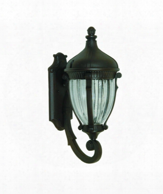"Anapolis 9"" 1 Light Outdoor Outdoor Wall Lkght In Oil Rubbed Bronze"