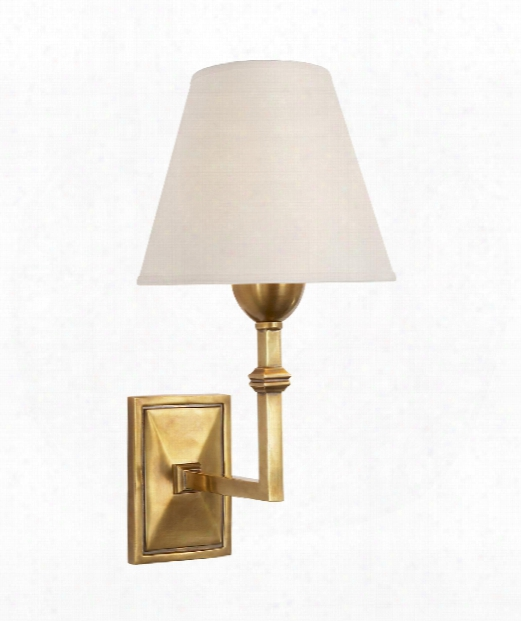 "Jane 7"" 1 Light Wall Sconce In Hand-rubbed Antique Brass"