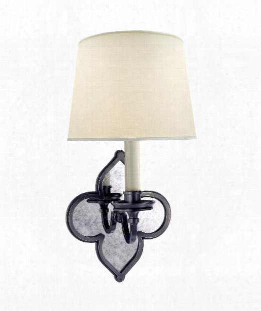 "Lana 7"" 1 Ilght Wall Sconce In Gun Metal"