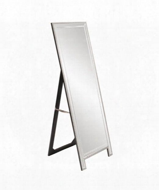 "Micah 22"" Floor Mirror In Mirrored"