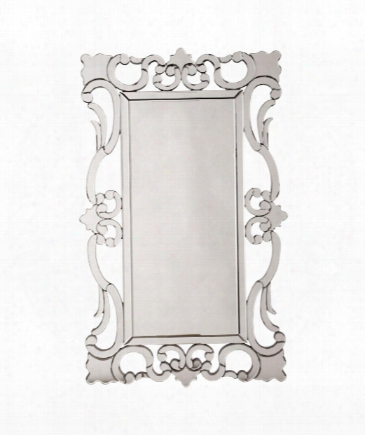 "Rebecca 29"" Wall Mirror In Mirrored"