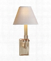 """Dean 7"""" 1 Light Wall Sconce in Brushed Nickel"""