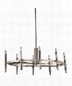 "Encore 18"" 8 Light Chandelier in Polished Nickel"