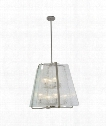 "La Traviata 22"" 8 Light Large Pendant in Brushed Nickel"