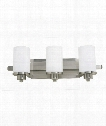 "Parkdale 21"" 3 Light Bath Vanity Light in Polished Nickel"