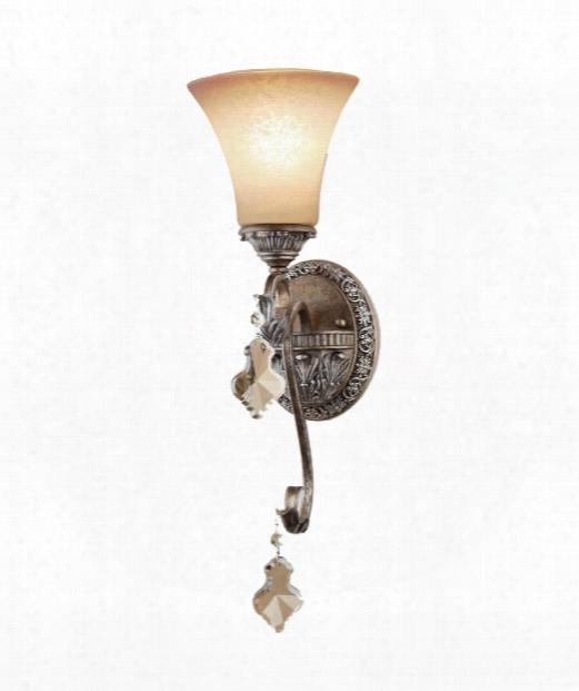 "Vienna 6"" 1 Light Wall Sconce In  Bronze"
