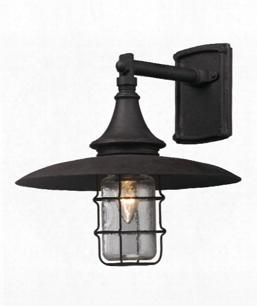 "Allegany 13"" 1 Light Outdoor Outdoor Wall Light In Cenntinial Rust"