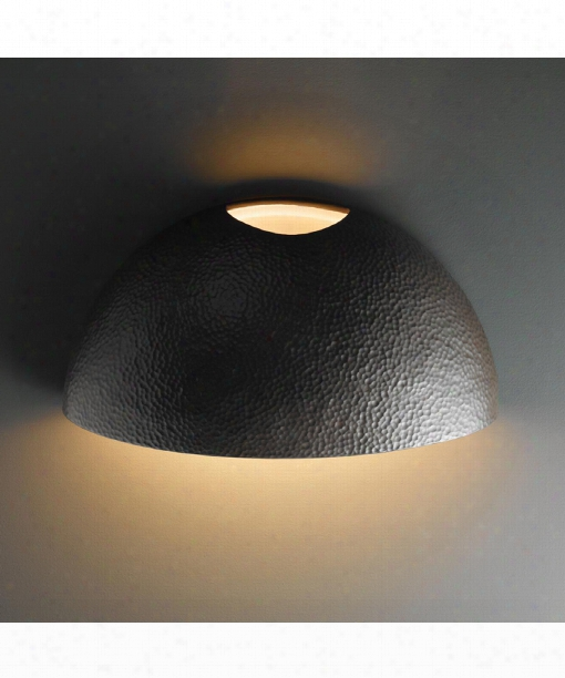 "Ambiance 20"" 2 Light Outdoor Outdoor Wall Light In Hammered Iron"