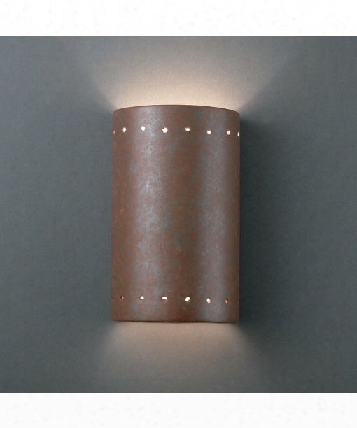 "Ambiance 6"" 1 Light Outdoor Outdoor Wall Light In Rust Patina"