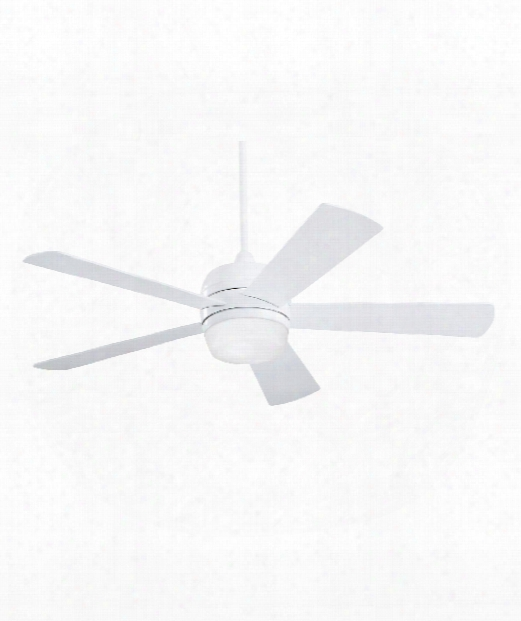 Atomical 2 Light Ceiling Fan In Appliance White