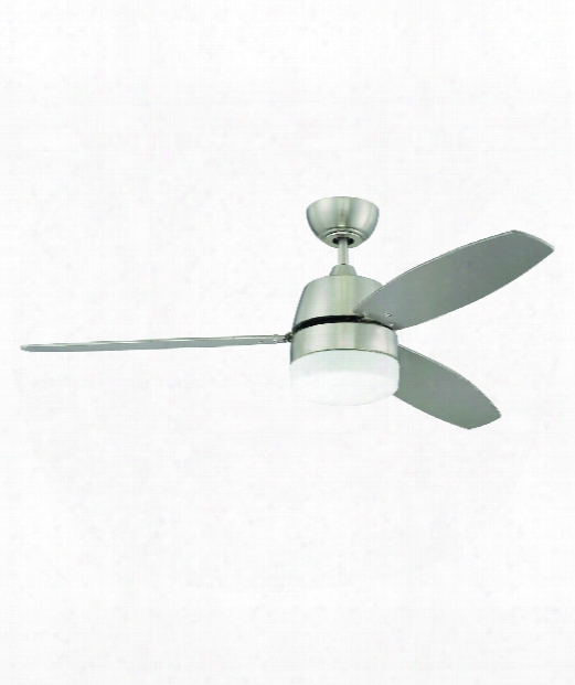 Beltre 2 Light Ceiling Fan In Brushed Polished Nickel